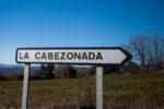cartel nomenclátor La Cabezonada