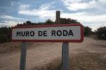 cartel nomenclátor Muro de Roda