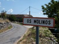 Cartel del pueblo de Los Molinos