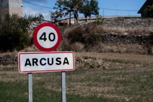 Cartel nomenclator Arcusa