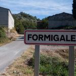 cartel nomenclátor Formigales