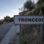 Cartel nomenclátor Troncedo
