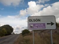 Foto Cartel nomenclátor Olsón