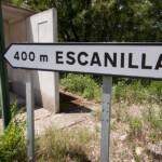 Foto Cartel nomenclátor Escanilla