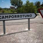 Foto Cartel nomenclátor Camporrotuno