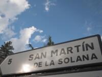 Foto Cartel nomenclátor San Martín de la Solana