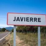 cartel nomenclator Javierre de Ara