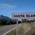 cartel nomenclator Santa Olaria de Ara