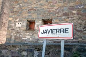 cartel nomenclator Javierre de Bielsa