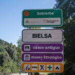 cartel nomenclator Bielsa