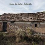 Fachada principal de la ermita de San Quilez