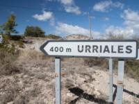 Cartel nomenclátor Urriales