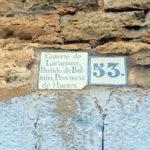 Cartel pueblo de Lacapana