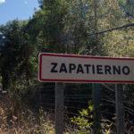 cartel nomenclator Zapatierno