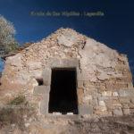 Fachada ermita de San Hipólito en Lapenilla