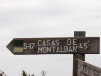 Cartel Casas de Montalbán