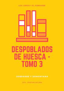 Libro Despoblados Huesca Sobrarbe de 2015