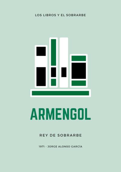 cartel libro armengol rey sobrarbe de 1971