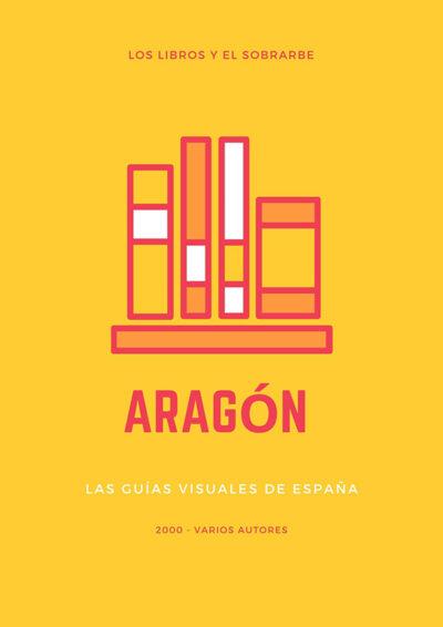 cartel libro aragon guias visuales del 2000