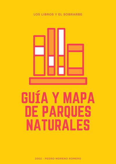 cartel libro guia parques naturales de 2002