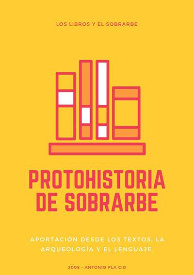cartel Libro Protohistoria De Sobrarbe de 2008