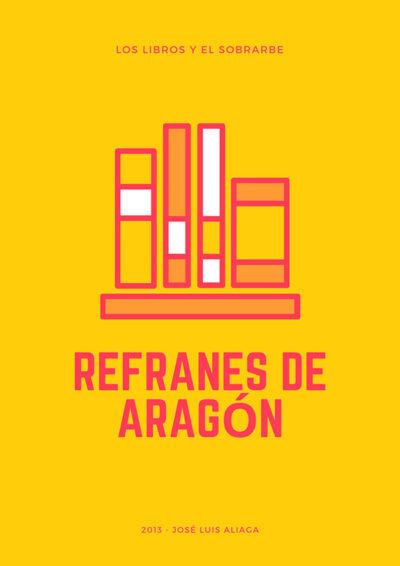 cartel Libro refranes de aragon de 2013