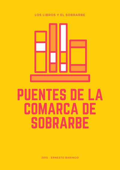 cartel Libro Puentes Comarca Sobrarbe de 2015