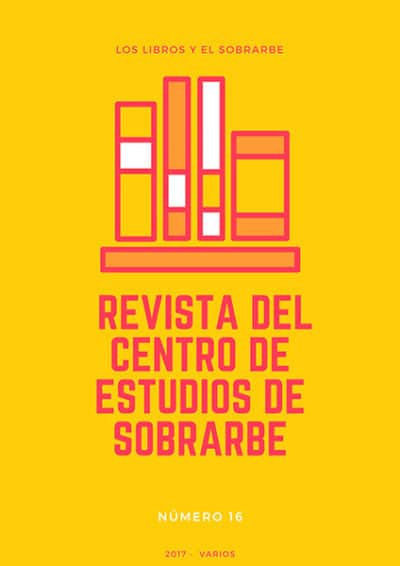 cartel Libro Revista Ces 16 de 2017