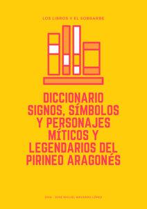 cartel Libro Diccionario Signos del pirineo aragonés de 2018