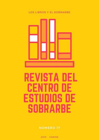 cartel Libro Revista Ces 17 de 2019