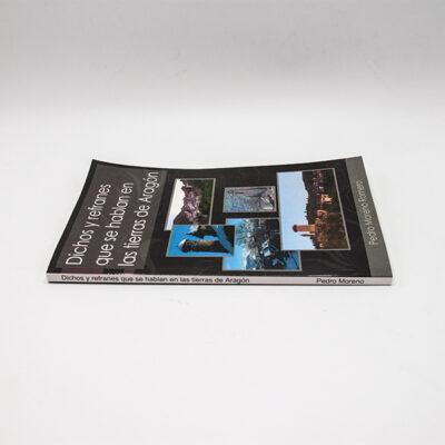 cartel libro dichos refranes se hablan aragon lomo
