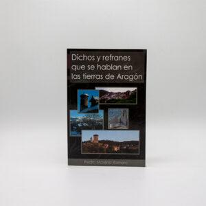 cartel libro dichos refranes se hablan aragon portada