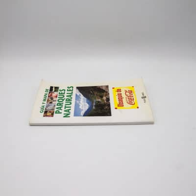 cartel libro guia mapa parques naturales lomo