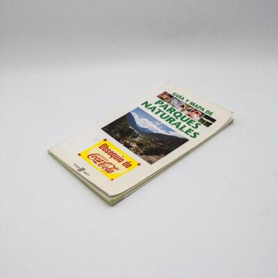 cartel libro guia mapa parques naturales suelopagina