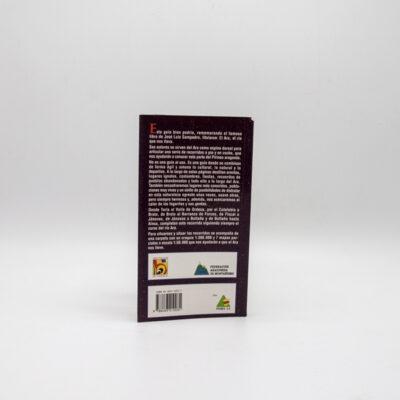 cartel libro por el valle del ara contraportada