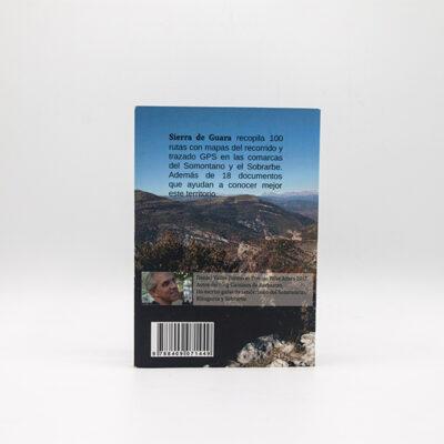 cartel Libro Sierra Guara Cienrutas Contraportada