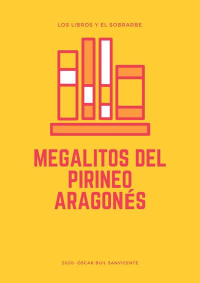 cartel libro megalitos pirineo aragones