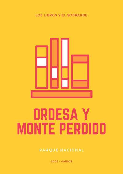 Libro Ordesa y Monte Perdido - 2003