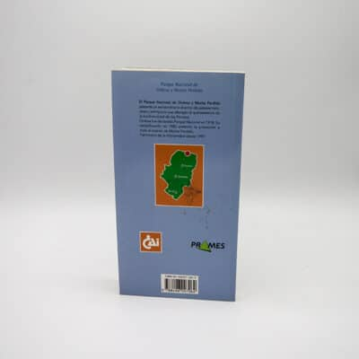 Foto Contraportada Libro Ordesa - Monte Perdido