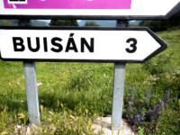 Cartel nomenclátor Buisán