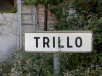 Cartel nomenclátor Trillo