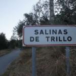 Cartel nomenclátor Salinas de Trillo