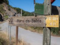 Cartel nomenclátor Muro de Bellos