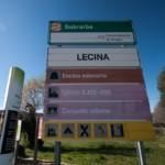 cartel nomenclátor Lecina