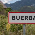 cartel nomenclátor Buerba