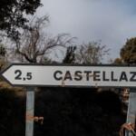cartel nomenclátor Castellazo