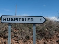 cartel nomenclátor Hospitaled